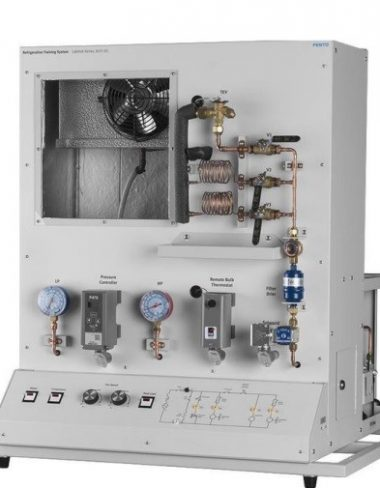 Refrigeration training system with fault system